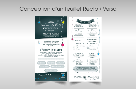 ctandco.fr - Creation plaquette commerciale artisan