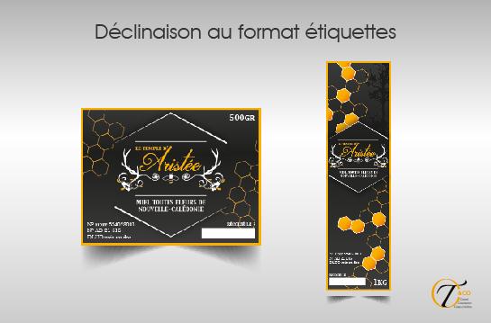 CTandco-Pau - declinaison charte graphique - etiquettes pot